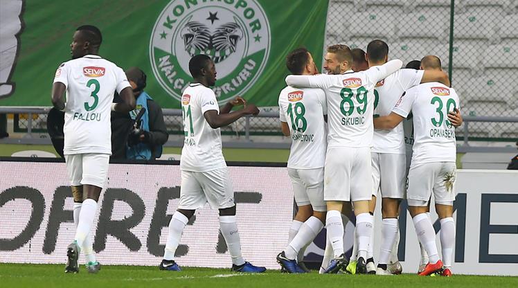 Atiker Konyaspor: 3 - Kasımpaşa: 2
