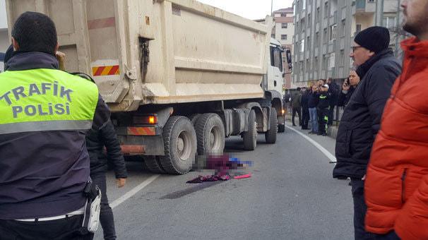 Rize'de hafriyat kamyonu dehşeti! Anne ve kızı feci şekilde can verdi