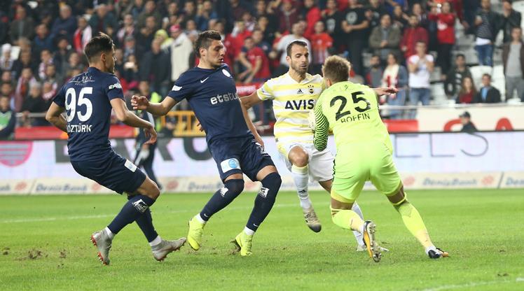 Antalyaspor: 0 - Fenerbahçe: 0