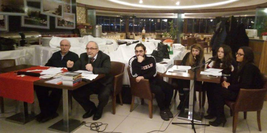 Yazarlarımız Nazım Tektaş ve Mustafa Can onuruna şiir ve hikaye dinletisi düzenlendi
