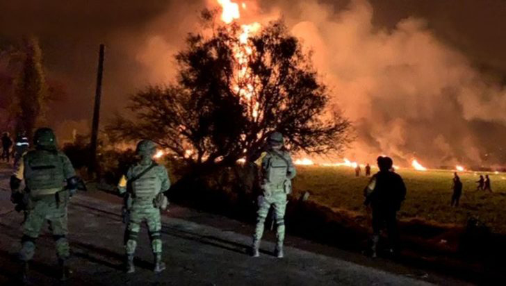 Meksika'da patlama: 20 ölü, 71 yaralı