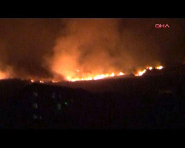 TSK açıkladı : Afyondaki askeri depodaki patlamada 25 asker şehit oldu