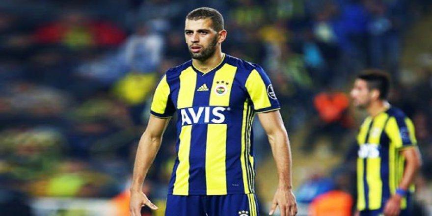 Slimani Fenerbahçe'de kaldı