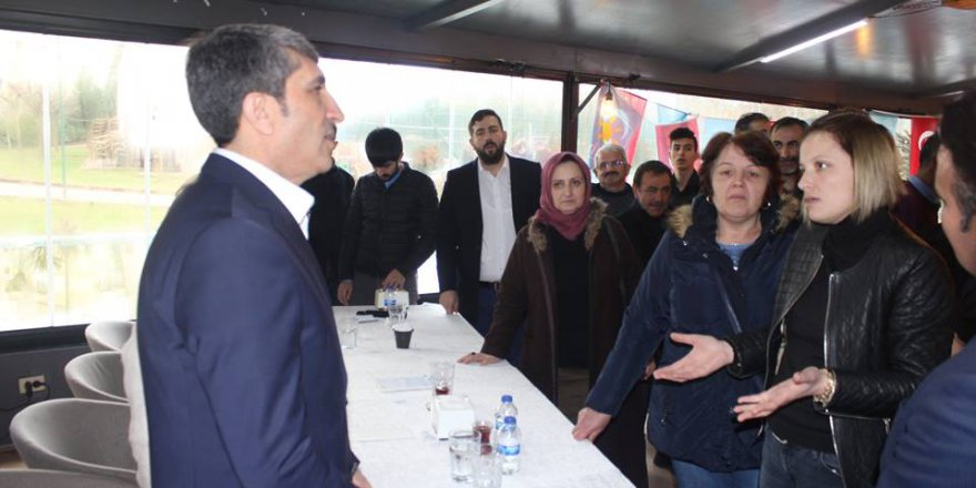 İYİ Parti Çayırova adayı İlhami Bayrak'tan Şekerpınar çıkarması