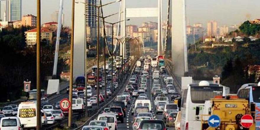 İstanbul dünyanın en sıkışık 2'inci trafiğine sahip