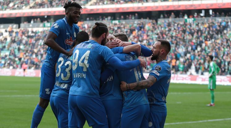 Bursaspor: 0 - Çaykur Rizespor: 2