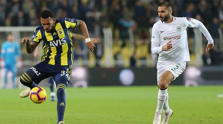Fenerbahçe: 1 - Atiker Konyaspor: 1