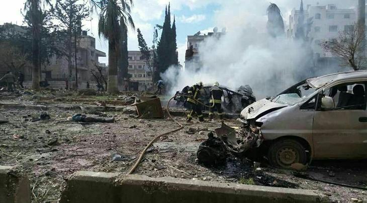 Suriye'de intihar saldırısı! Çok sayıda ölü var