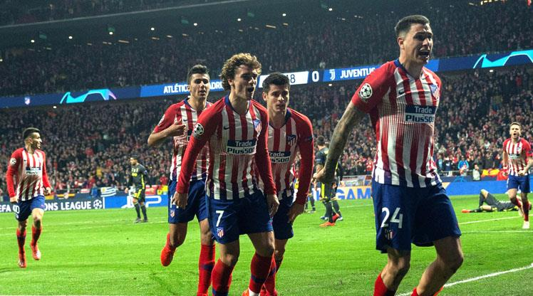 Atletico Madrid: 2 - Juventus: 0