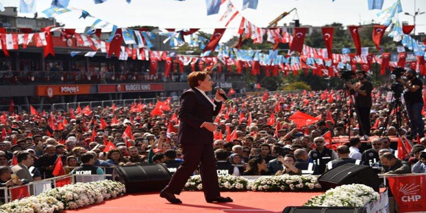 """Akşener'den Erdoğan'a: """"Milliyetçiliği ayaklar altına almıştın, o ayağını kaldırdın mı?"""""""