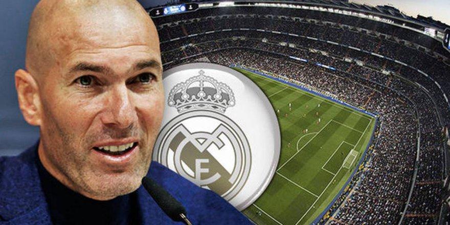 Real Madrid Zidane'ı resmen açıkladı