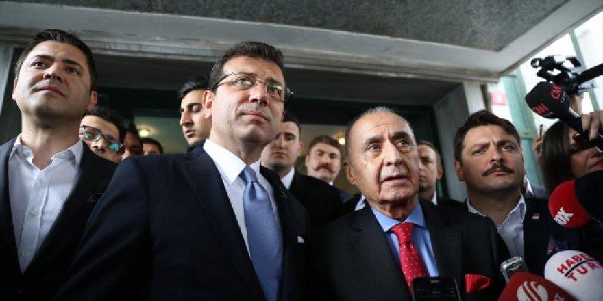 İmamoğlu, Erdoğan'ı karşıladı