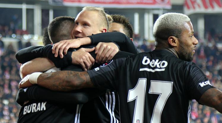 Demir Grup Sivasspor: 1 - Beşiktaş: 2