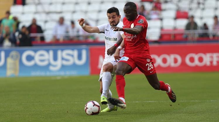 Antalyaspor: 1 - BB Erzurumspor: 1