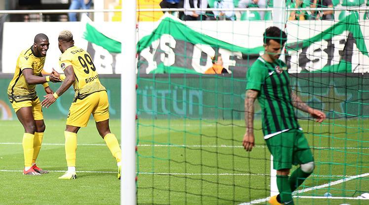 Akhisarspor: 0 - Evkur Yeni Malatyaspor: 2