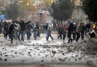 PKK gösterilerine katılan 14 kişi yakalandı
