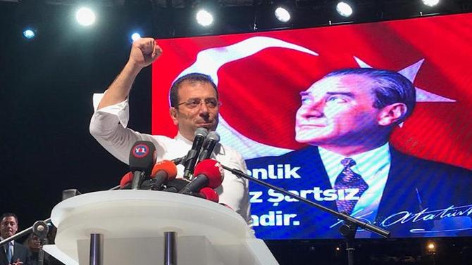Ekrem İmamoğlu'ndan YSK'ya tepki