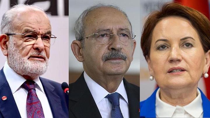 Kılıçdaroğlu, Akşener ve Karamollaoğlu'yla görüştü
