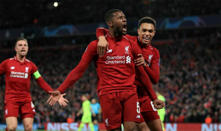 Liverpool, Barcelona karşısında tarih yazdı