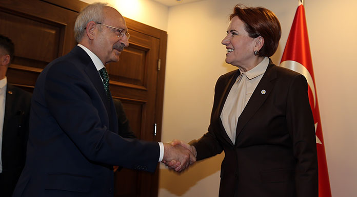 Kemal Kılıçdaroğlu, Meral Akşener'le görüştü