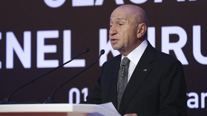 Türkiye Futbol Federasyonu'nun yeni başkanı; Nihat Özdemir