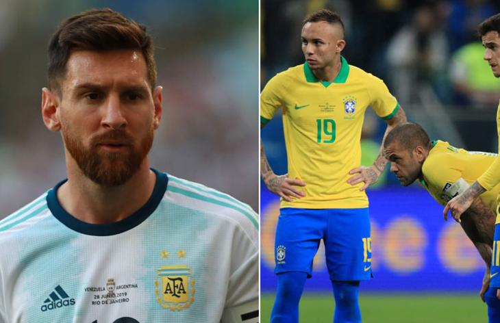 Brezilya Copa America'da finalde
