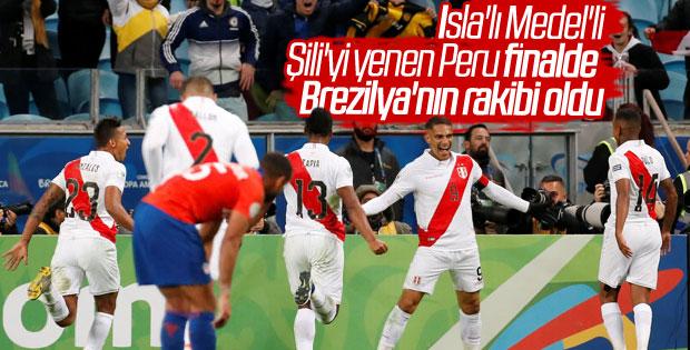 Copa America'da ikinci finalist Peru