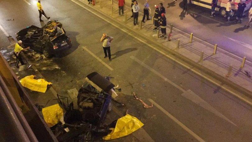 Konya'da katliam gibi kaza: 7 ölü