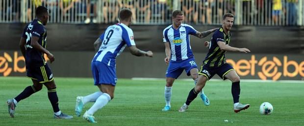 Fenerbahçe 4. hazırlık maçında 2-1 mağlup oldu