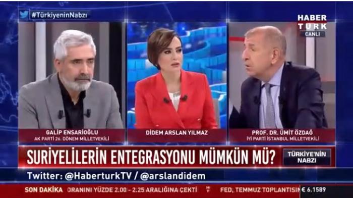 İYİ Partili Özdağ: Türkiye'de 7 milyon göçmen var