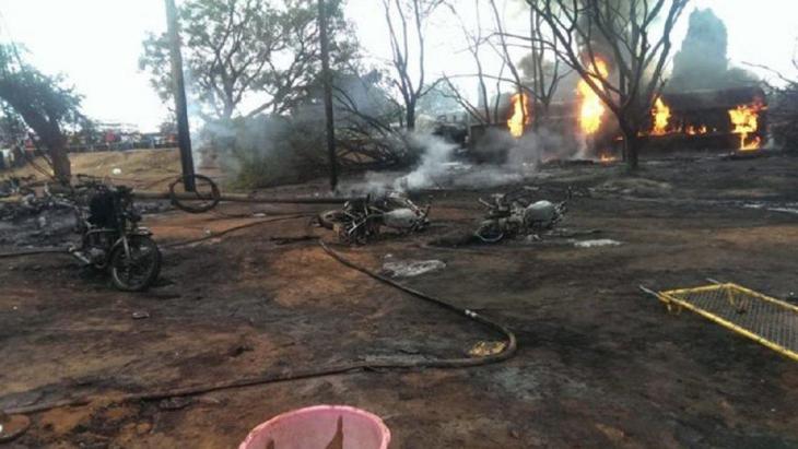 Tanzanya'da petrol tankeri patladı! En az 57 ölü