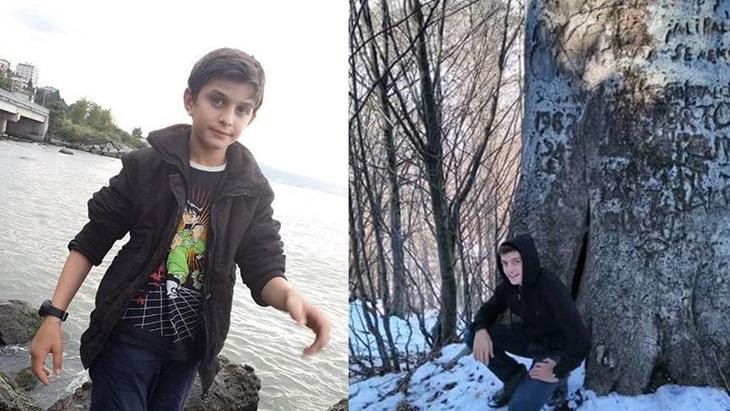 Trabzon'da boğulma tehlikesi geçiren kardeşlerden üzücü haber!