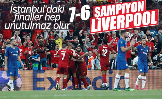 Süper Kupa'nın şampiyonu Liverpool