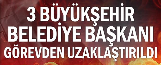 Son dakika! Diyarbakır, Mardin ve Van Büyükşehir Belediyelerine operasyon