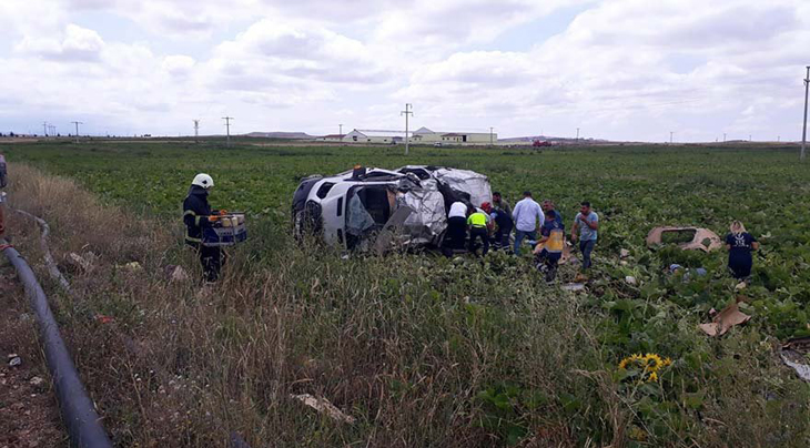 Nevşehir'de minibüs ile TIR çarpıştı: 6 ölü, 9 yaralı