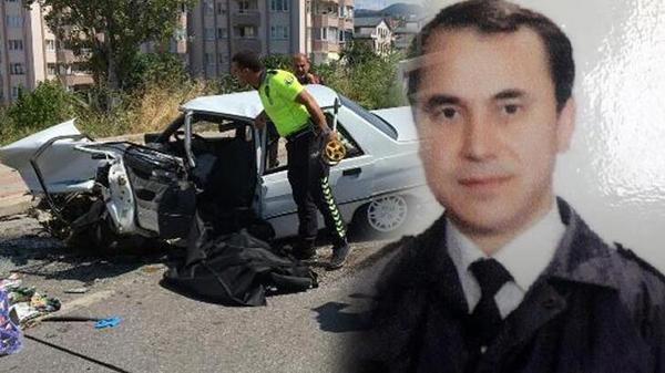 Bursa'da özel otomobil yolcu indiren otobüse çarptı: Bir ölü