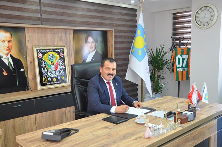 İYİ Parti'de Ahmet Aydın bekleyişi