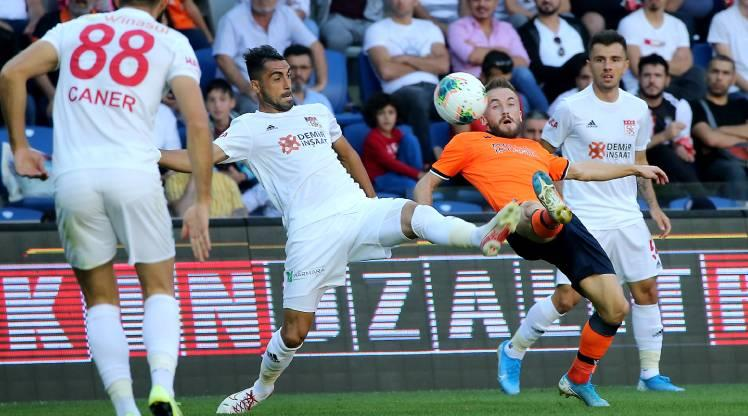 Medipol Başakşehir: 1 - DG Sivasspor: 1
