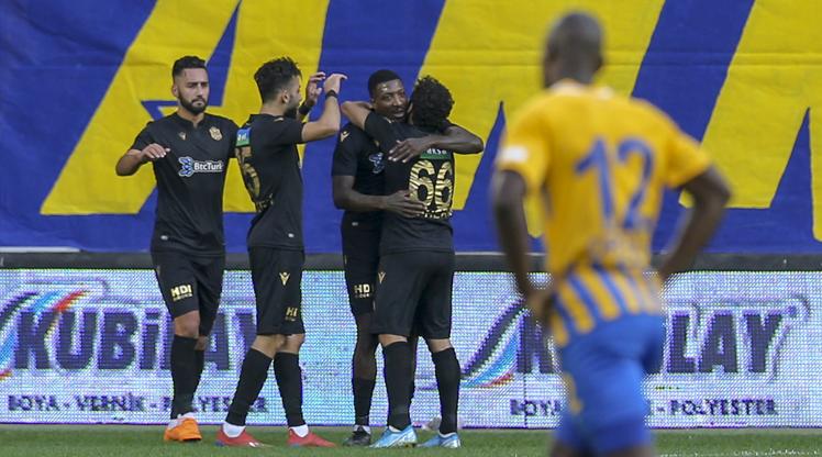 MKE Ankaragücü: 0 - BtcTurk Yeni Malatyaspor: 4