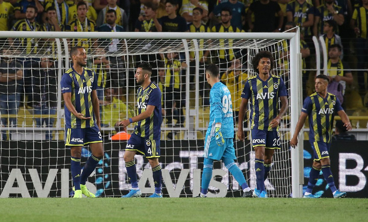 Fenerbahçe: 0 - Antalyaspor: 1