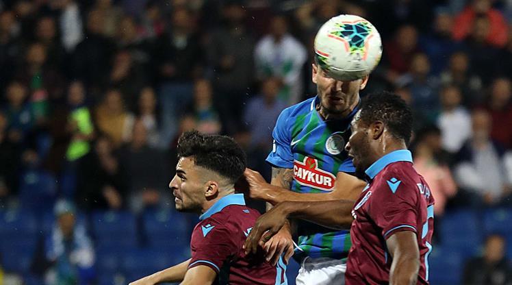 Çaykur Rizespor: 1 - Trabzonspor: 2
