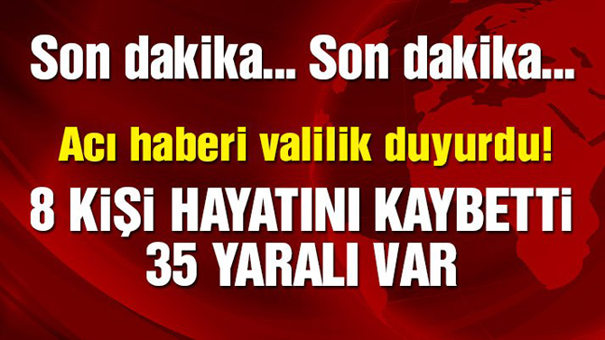 Mardin'de havan topu saldırısı: 8 sivil hayatını kaybetti, 35 yaralı!