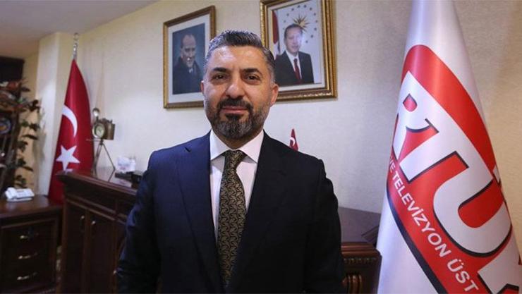 RTÜK Başkanı Şahin TÜRKSAT'tan istifa etti!