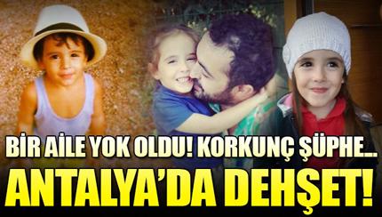 Antalya'da 4 kişilik aile ölü bulundu!