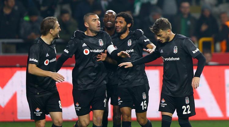 İH Konyaspor: 0 - Beşiktaş: 1