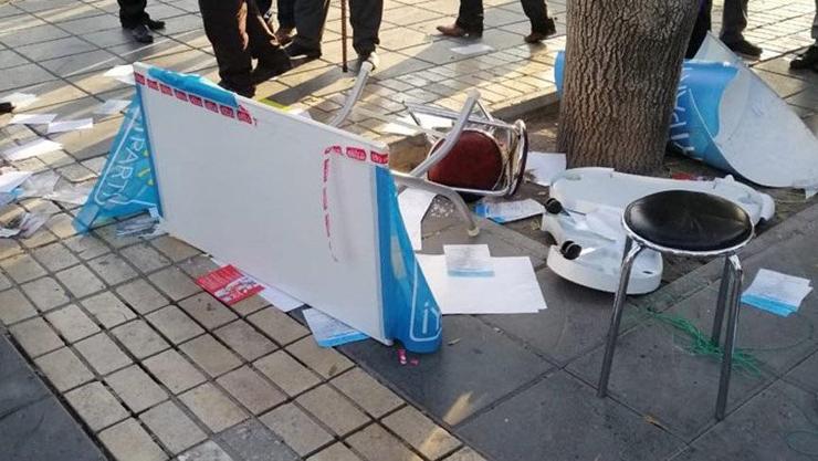 Kayseri'de İYİ Partili kadınlar saldırıya uğradı!