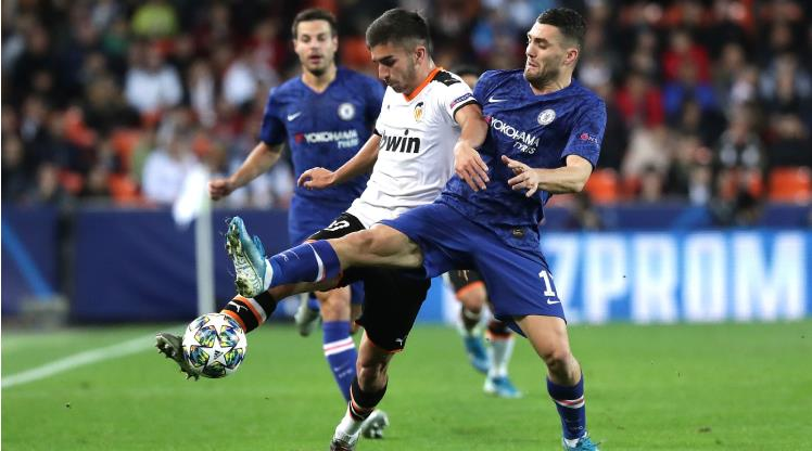 Valencia: 2 - Chelsea: 2
