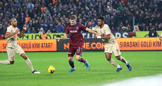 Trabzonspor: 1 - Galatasaray: 1