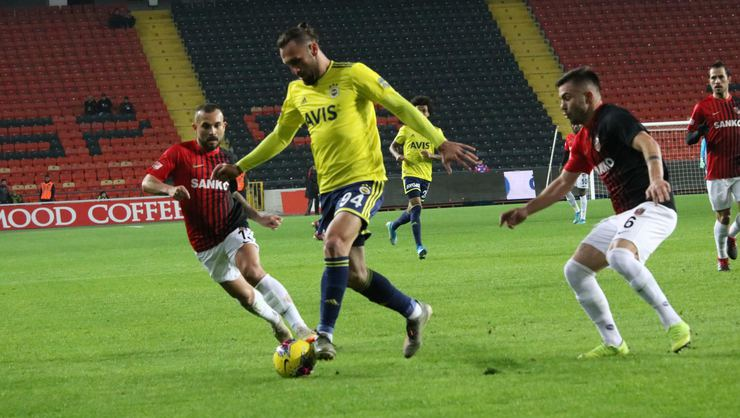 Gaziantep FK: 0 - Fenerbahçe: 2