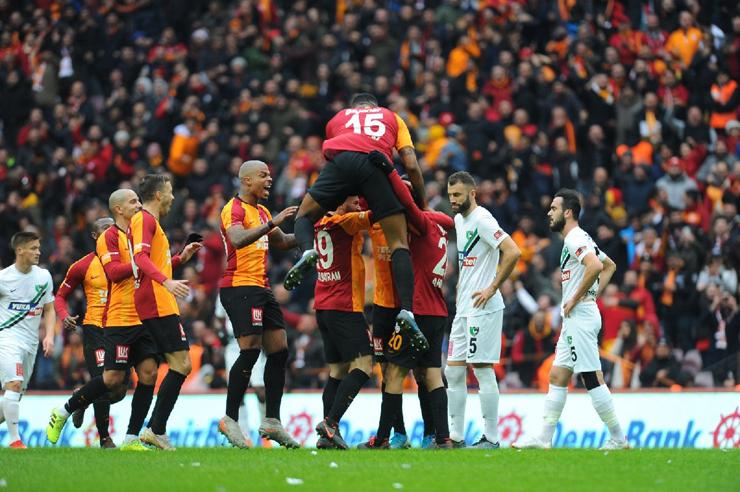 Galatasaray: 2 - Yukatel Denizlispor: 1
